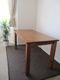 SOLID TABLE 1.5m x 0.75m x 0.75m
