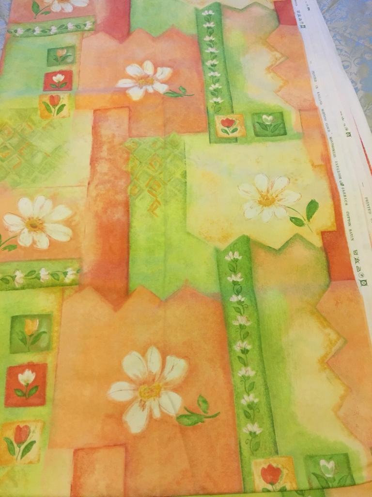 Large Piece of New Unused Fabric