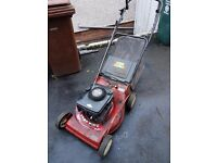 Yard king 21 inch lawnmower self propelled