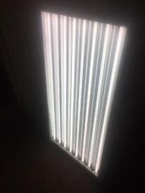 Hydroponics light panel