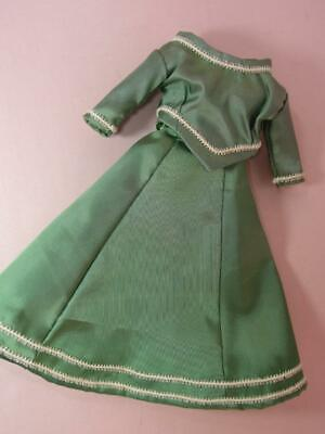 *Vintage  Antique French Fashion Doll Costume Skirt, Blouse - German,  Repro 11
