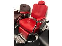 NEW HEAVY DUTY RED BARBER CHAIR BX-2903,CASH ON COLLECTION ONLY UK new uk