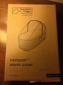 NEW mountain buggy carrycot storm cover