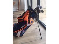 Junior Golf Club Set inc bag