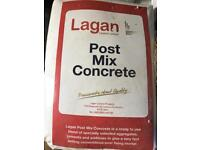 Quality brand Post Mix Concrete- take as many or few as you wish