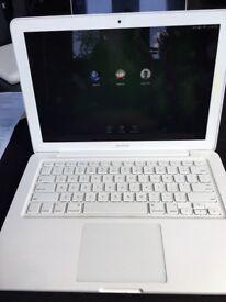 "Used MacBook (White) 13"" screen, 4GB memory"