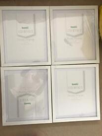4 new White 8x 10 photo frames