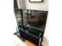 3 Tier Glass TV Stand for sale