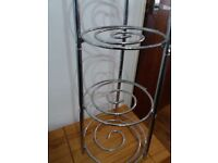Stainless Steel pot/plant stand