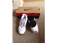 Nike Air White Trainers UK Size 8.5 EU size 43 - New With Box!