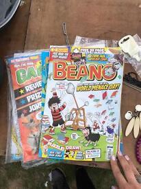 As new Beano Comics