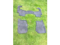 Land Rover discovery 3 genuine rubber floor mats