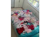 206 items of baby clothes (newborn & 0-3months)