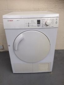 Bosch Exxcel 8 kg vented tumble dryer(delivery available)