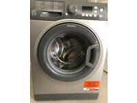 HOTPOINT - WMFUG742G SMART Washing Machine - Graphite