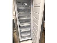 Brand new indesit stand up freezer in silver