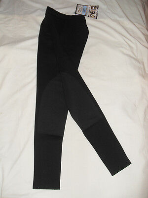 NEW COMFORT RIDERS SHOW BREECH, BLACK, SIZE 24L MED/LOW RISE, EURO STYLE (NICE!)