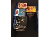 Blu Ray Collection 132 movies & 4 TV Box sets
