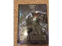 Warhammer 40k grey knights codex (7th edition)