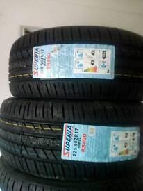 Tyres 225/50/17