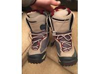 Salomon snowboard boots size 7.5