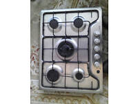LogiK 5 Burner Gas Hob - lightly used Good to excellent Condition