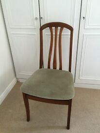 Elegant dining chairs x 4