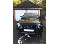 Audi Q5 S-line Quattro - special spec with colour coded grills and roof bars