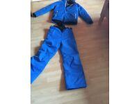 Ski jacket with matching ski trousers