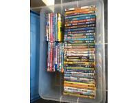 Bundle of children's DVDs