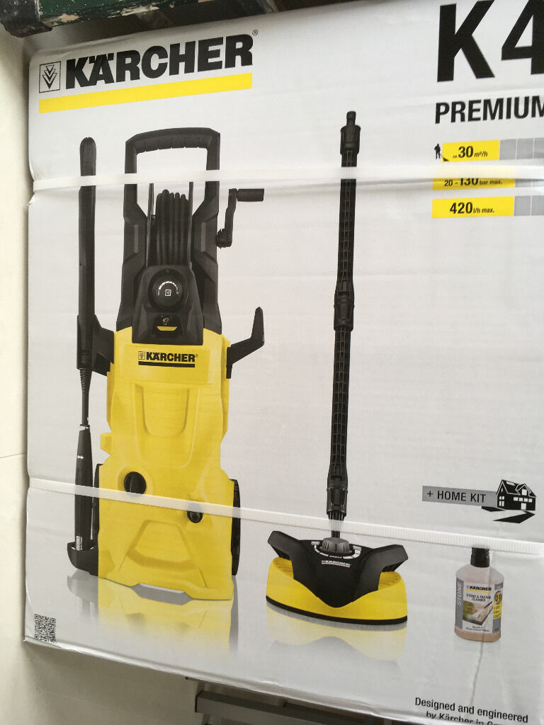 karcher k4 premium home pressure washer new in preston. Black Bedroom Furniture Sets. Home Design Ideas