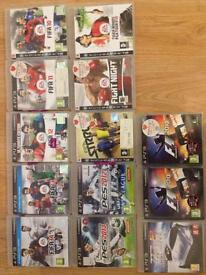 13 PS3 GAMES (VERY CHEAP & SOLD SEPARATELY)