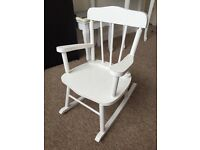 Shabby Chick Rocking chair for kids