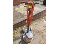 Industrial floor polisher/cleaner