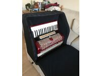 Piano Accordion 120 Bass + Backpack Case