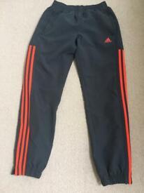 Adidas Tracksuit bottoms x 2