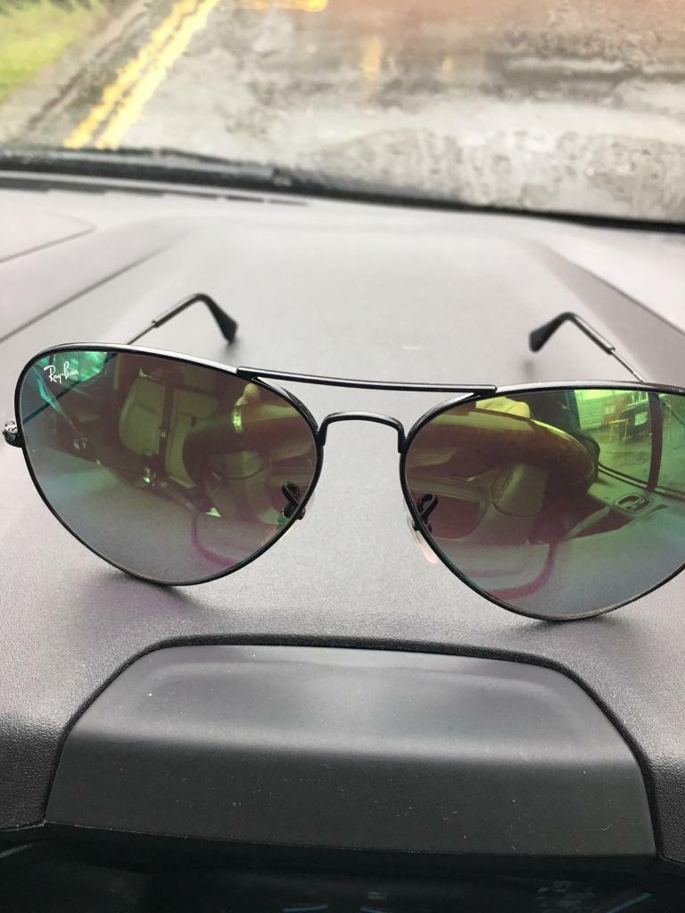 8f54774d6cb1af Ray ban aviator sunglasses   in Glasgow   Gumtree