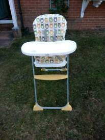 High chair by joie