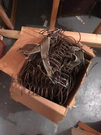 Box of springs for upholstery