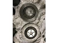 2007 Audi R8 genuine Front brake disc / rotors