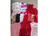 Baby girl bundle 9-12m Next, Mothercare,etc
