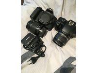 Cheap Canon 70D with 18-55 lens + Canon 100D