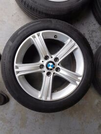 """BMW 3 SERIES ALLOYS 17"""" from 63 PLATE CAR"""