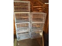 Block of 2x6 cages