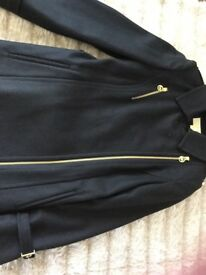 Genuine brand new with tags Micheal kors black size M wool Mix coat