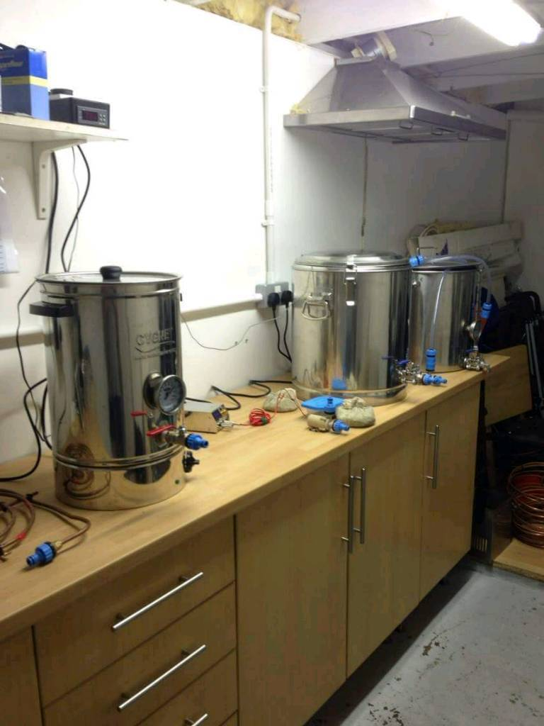 all grain home brewing setup in gilmerton edinburgh gumtree