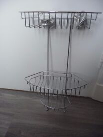 Shower Caddy With 3 Handy Tiers