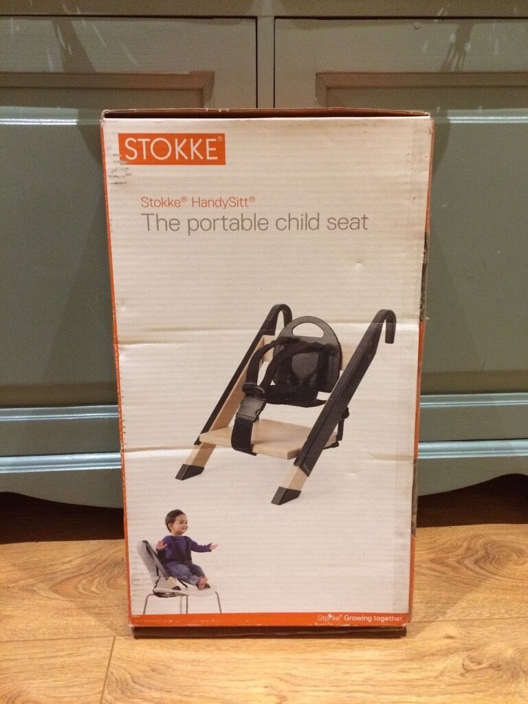 Stokke Handysitt Portable High Chair New In Box Never