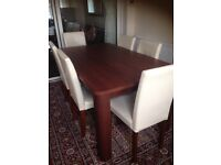 I would like to sale it because I bought new style this table and chairs in good condition .........