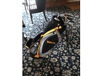 Wilson Ultra Golf clubs and bag